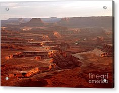 Green River Overlook Acrylic Print