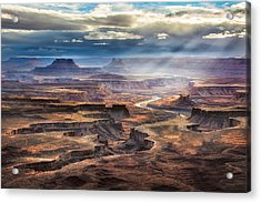 Green River Overlook Acrylic Print