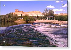 Green River Rapids Acrylic Print by Chris Tarpening