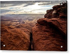 Green River View Acrylic Print by Dustin  LeFevre