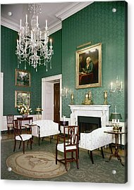 Green Room In The White House Acrylic Print