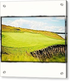 Green Side Acrylic Print