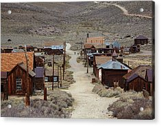Green Street, Bodie Ghost Town Acrylic Print