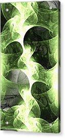 Green Surge Acrylic Print