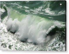 Green Thunder Acrylic Print