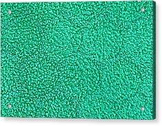 Green Towel Acrylic Print by Tom Gowanlock