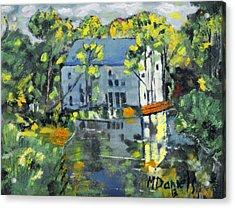 Green Township Mill House Acrylic Print