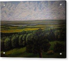 Green Valley Acrylic Print