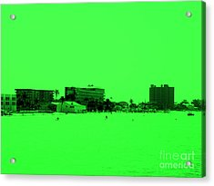 Green View. Special... Acrylic Print