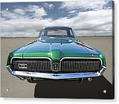 Green With Envy - 68 Mercury Acrylic Print