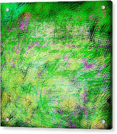 Green With Envy Series II Acrylic Print by Marianne Campolongo