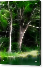 Greenbelt Acrylic Print by Wendy J St Christopher