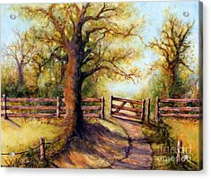 Greener Pastures Acrylic Print