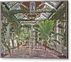 Greenhouse Splendor Acrylic Print by Elin Mastrangelo