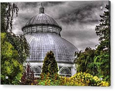 Greenhouse - The Observatory Acrylic Print by Mike Savad