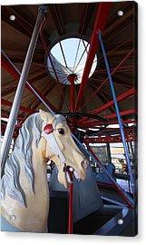 Greenport Carousel Greenport New York Acrylic Print