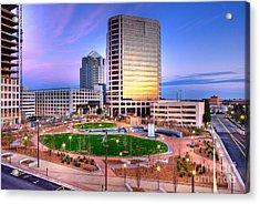 Greensboro Center City Park I Acrylic Print