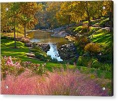 Greenville City Park Acrylic Print