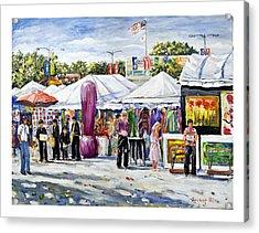 Greenwich Art Fair Acrylic Print