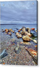 Acrylic Print featuring the photograph Greenwich Bay by Alex Grichenko