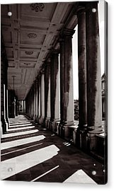 Greenwich Pillars Acrylic Print by Dan Davidson