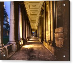 Greenwich Royal Naval College Hdr Acrylic Print by David French