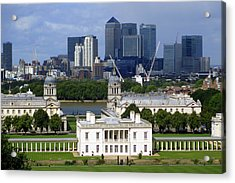 Greenwich View Acrylic Print by Donald Turner