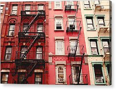 Acrylic Print featuring the photograph Greenwich Village  by Kim Fearheiley