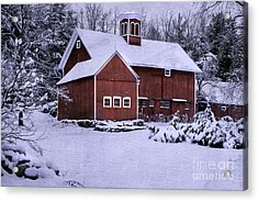 Greetings From New England Acrylic Print