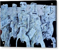 Grego No.4 Acrylic Print by Mark M  Mellon