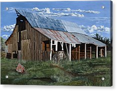Greive's Barn Acrylic Print