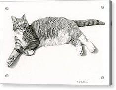 Frieda Acrylic Print by Sarah Batalka