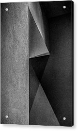 Grey Shadows Acrylic Print