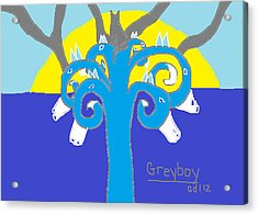 Greyboy The Strength Is On Your Side Acrylic Print