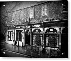 Greyfriars Bobby In Edinburgh Scotland  Acrylic Print
