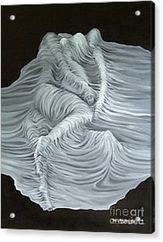 Greyish Revelation Acrylic Print