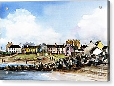 Greystones North Beach  Wicklow Acrylic Print