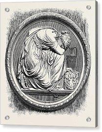 Grief, Berlin In The Royal Academy Exhibition 1871 Acrylic Print