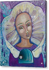 Grief To Gratitude Acrylic Print by Havi Mandell
