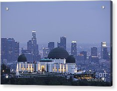 Griffith Observatory Los Angeles Acrylic Print