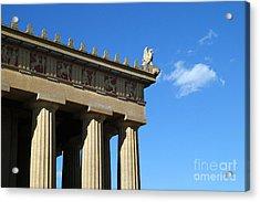 Griffon On The Parthenon  Acrylic Print