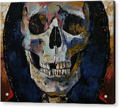 Grim Reaper Acrylic Print by Michael Creese