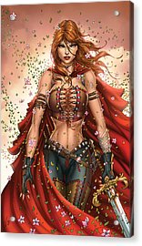 Grimm Fairy Tales Unleashed 04c Belinda Acrylic Print by Zenescope Entertainment