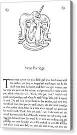 Grimm Sweet Porridge Acrylic Print by Granger