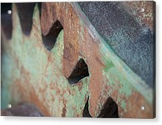 Acrylic Print featuring the photograph Grind by Kevin Bergen