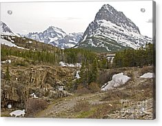 Grindle Mountain Acrylic Print by Russell Christie