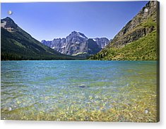 Grinnel Lake Glacier National Park Acrylic Print by Rich Franco