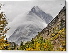 Grinnell Cloud Wrap Acrylic Print