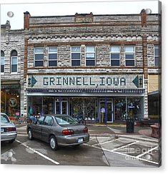 Grinnell Iowa - Downtown - 06 Acrylic Print by Gregory Dyer