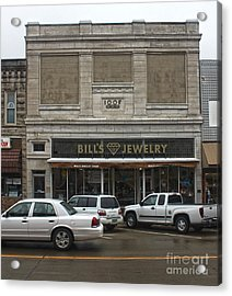 Grinnell Iowa - Odd Fellows Lodge Acrylic Print by Gregory Dyer